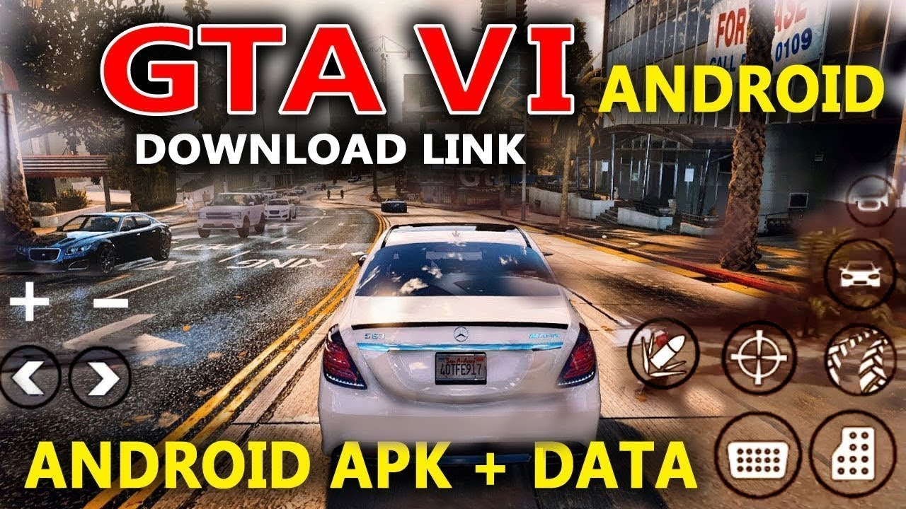 Gta 6 Apk Obb Data Download For Android Apkcabal