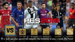 PES 2019 PPSSPP Android