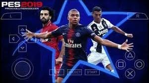 PES 2019 PPSSPP ISO Highly Compressed English Download For