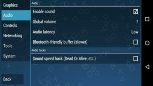 PPSSPP Best Audio Settings
