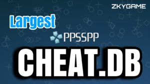 PPSSPP Cwcheat Database