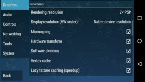 best ppsspp performance settings