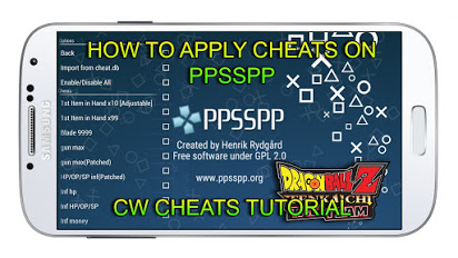 PPSSPP Cheat