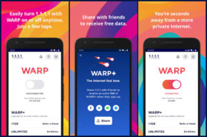 1.1.1.1 Cloudflare Warp VPN Apk ios