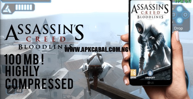 Assassins Creed Bloodlines PPSSPP