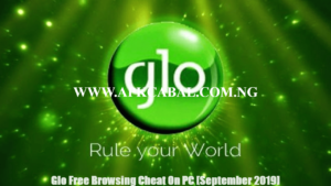 Glo Free Browsing Cheat On PC