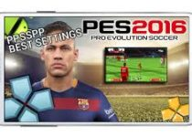 PES 2016 Best PPSSPP Settings