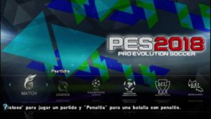 PES 2018 PPSSPP ISO