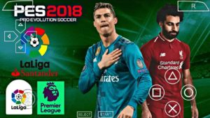 PES 2018 PPSSPP ISO Highly Compressed