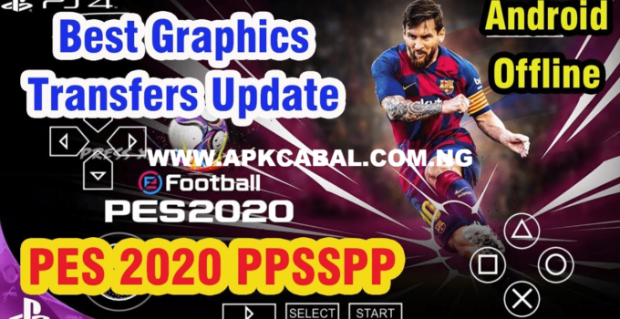 PES 2020 PPSSPP ISO