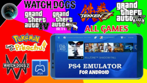 PS4 Emulator Games