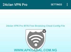 24clan VPN Pro MTN Free Browsing Cheat Config file