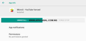 Download Microg YouTube Vanced APK