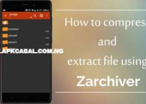How To Compress And Extract File Using Zarchiver