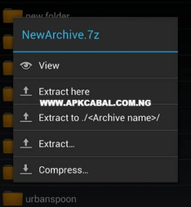 How To Extract A File With Zarchiver On Android