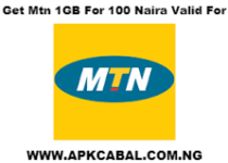 How To Get Mtn 1GB For 100 Naira
