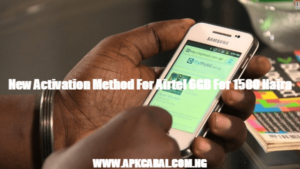 New Activation Method For Airtel 6GB For 1500 Naira