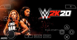 WWE 2K20 Apk PPSSPP Android