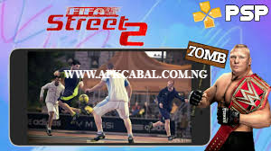 Download FIFA Street 2 PPSSPP CSO Highly Compressed Game