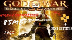 god of war chains of olympus ppsspp