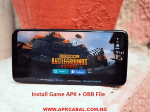 how to install apk obb data file