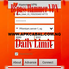 bypass hammer vpn mtn daily limit