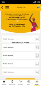 download mymtn app and get 2gb free data
