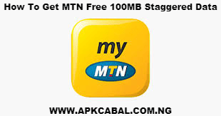 free mtn 100mb staggered data