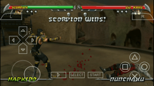 mortal kombat unchained ppsspp best settings