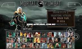 mortal kombat unchained ppsspp highly compressed