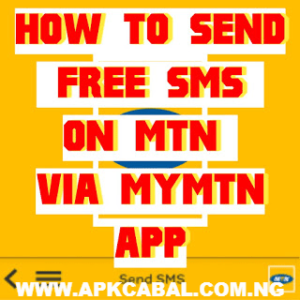 mymtn app free sms