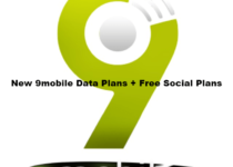 new 9mobile data plans plus free social plans