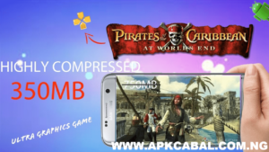 pirates of the caribbean at worlds end ppsspp