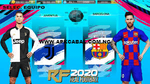real football 2020 mod apk download