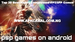 highly compressed ppsspp game
