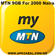 how to get mtn 9gb for 2000 naira