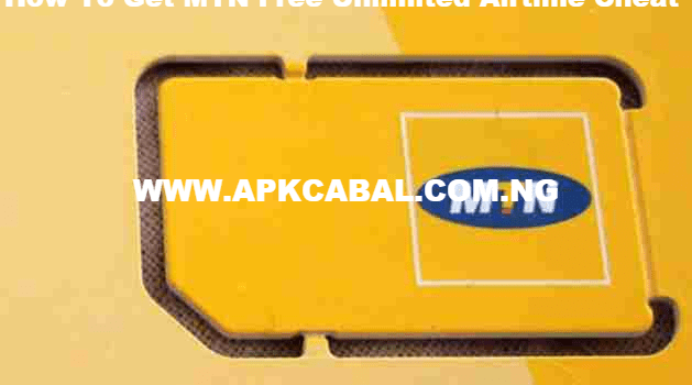 how to get mtn free unlimited airtime cheat