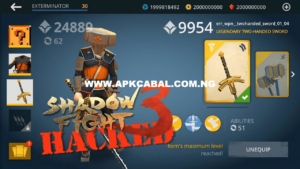 shadow fight 3 mod apk unlimited money