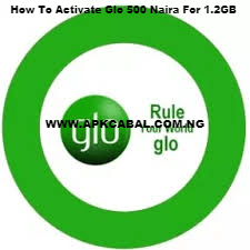 glo 500 naira for 1.2gb code