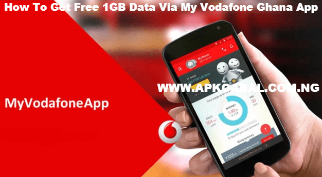 free 1gb data from my vodafone ghana app