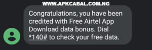 free airtel data cheat
