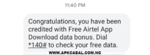 how to get airtel free 1gb data