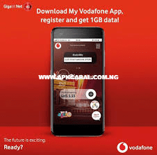 how to get free 1gb data from my vodafone ghana app