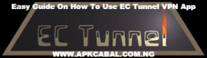 how to use ec tunnel vpn