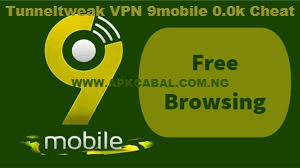 9mobile cheat 2020 tunneltweak