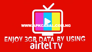 airtel tv app 3gb