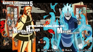 Download Naruto Shippuden Ultimate Ninja Storm 5 PPSSPP CSO Highly Compressed Free For Android 2