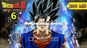 dragon ball z shin budokai 6 ppsspp