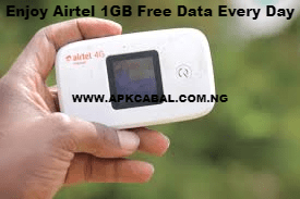 how to enjoy airtel 1gb free data