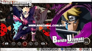 naruto shippuden ultimate ninja storm 5 ppsspp cso highly compressed